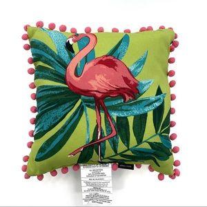 Allen & Roth Flamingo Outdoor Accent 16x16 Pillow